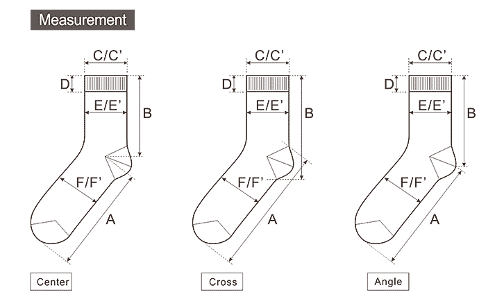 Eloquent image with regard to printable sock measurement chart